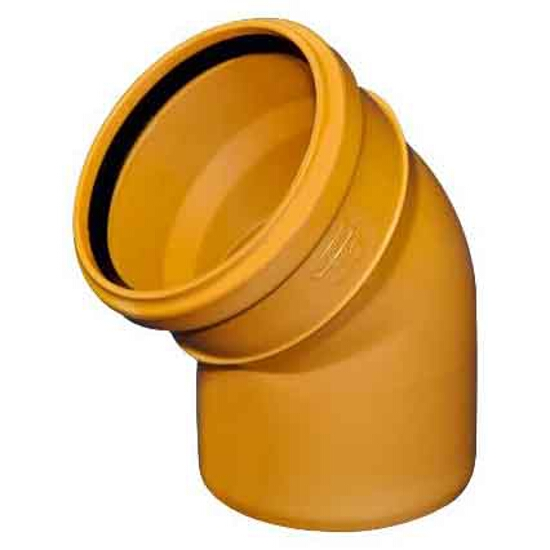Kolano PVC zew. KL.N 200x15° Wavin
