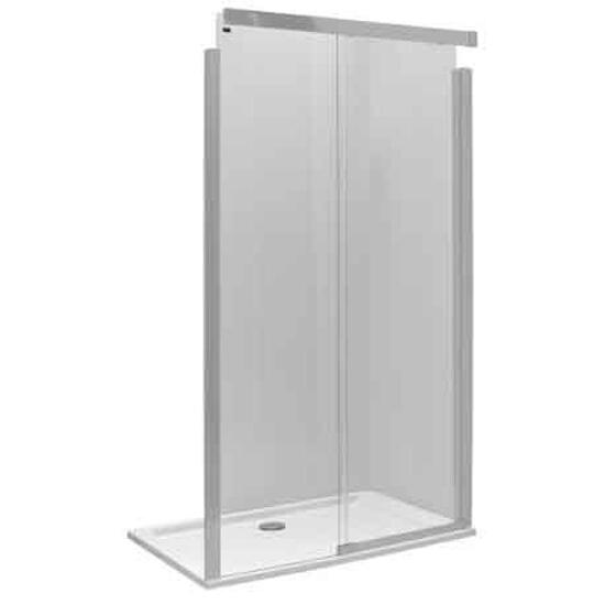 Drzwi prysznicowe S600 przesuwane 140cm lewostronne szkło hartowane JDDS14222001L Koło