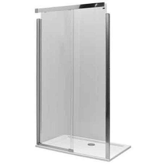 Drzwi prysznicowe S600 przesuwane 140cm lewe szkło hartowane JDDS14222003L Koło