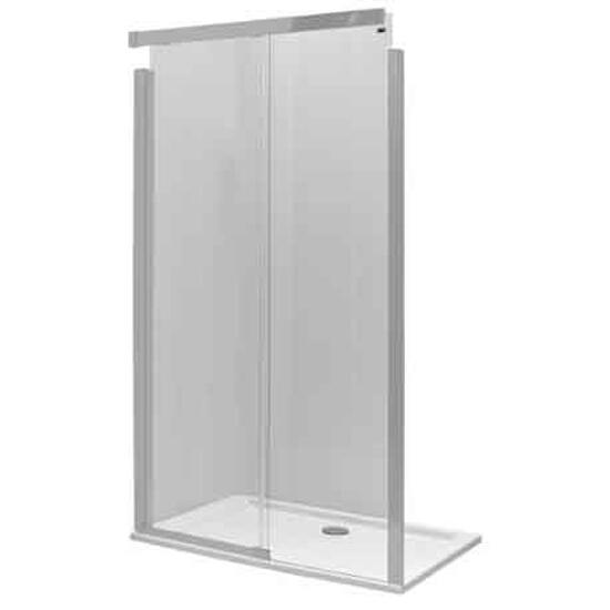 Drzwi prysznicowe S600 przesuwane 140cm prawostronne szkło hartowane JDDS14222001R Koło