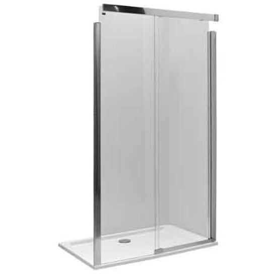Drzwi prysznicowe S600 przesuwane 140cm prawostronne szkło hartowane JDDS14222003R Koło