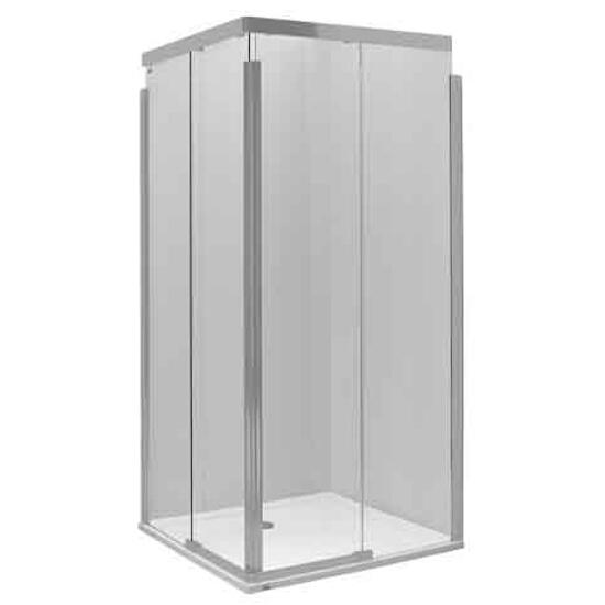 Kabina prysznicowa kwadratowa S600 90cm szkło hart. mat. ramię prawe JKDK90222001R Koło