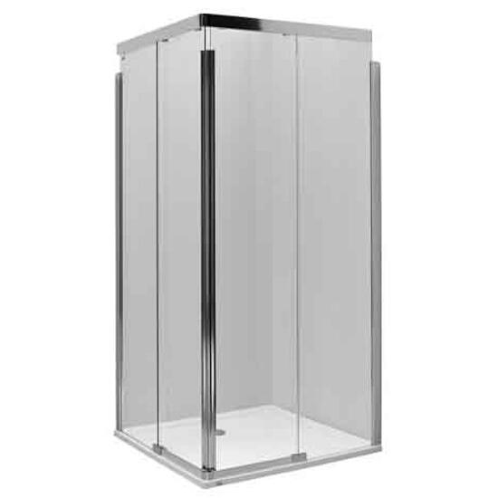Kabina prysznicowa kwadratowa S600 100cm szkło hart. poł. ramię lewe JKDK10222003L Koło