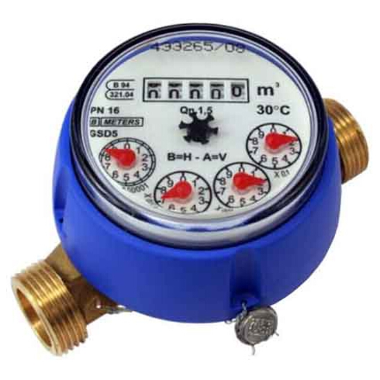 """Wodomierz GSD5 standard Qn=1,5 1/2"""" DN15 suchobieżny do zimnej wody BMETERS"""