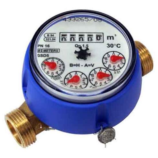 """Wodomierz GSD5 standard Qn=2,5 1/2"""" DN20 suchobieżny do zimnej wody BMETERS"""