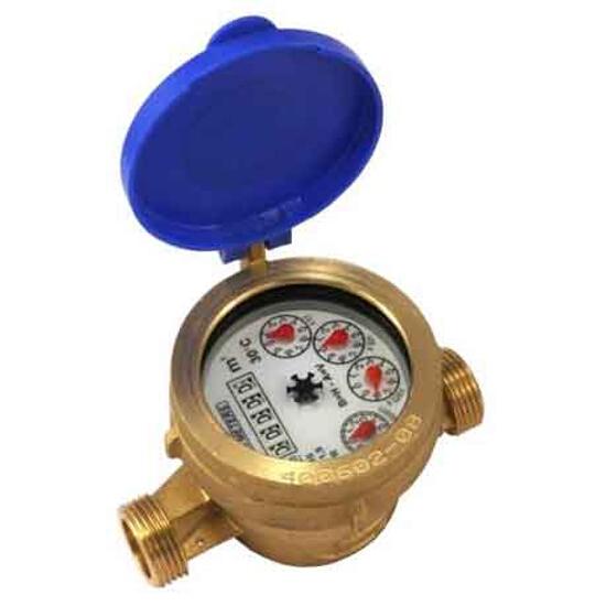 """Wodomierz CPR5 Qn=2,5 3/4"""" DN20 mokrobieżny do zimnej wody BMETERS"""