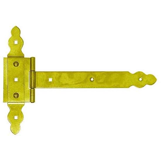 Zawias ozdobny bramowy ZBNO 250 250x60x215x35mm Domax