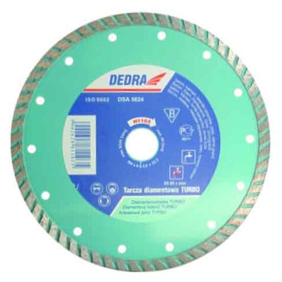 Diamentowa tarcza tnąca Turbo 125/22,2 H1101 Dedra