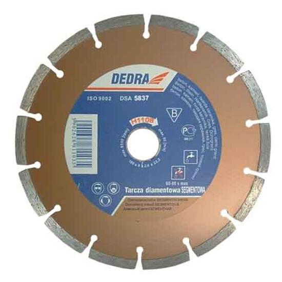 Diamentowa tarcza tnąca segmentowa 125/22,2 H1107 Dedra