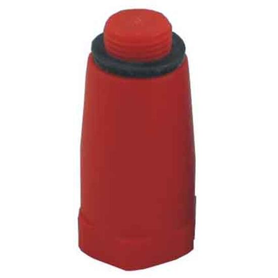"""Korek 1/2"""" do prób ciśnieniowych PVC czerwony TiA"""