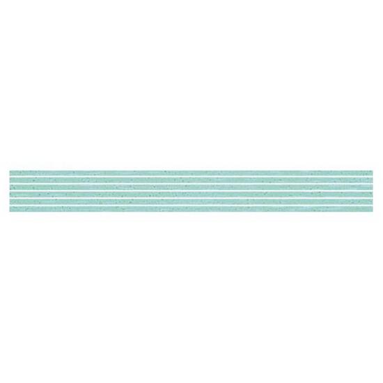 Płytka ścienna Palette Blue listwa nacinana 7x60 Paradyż