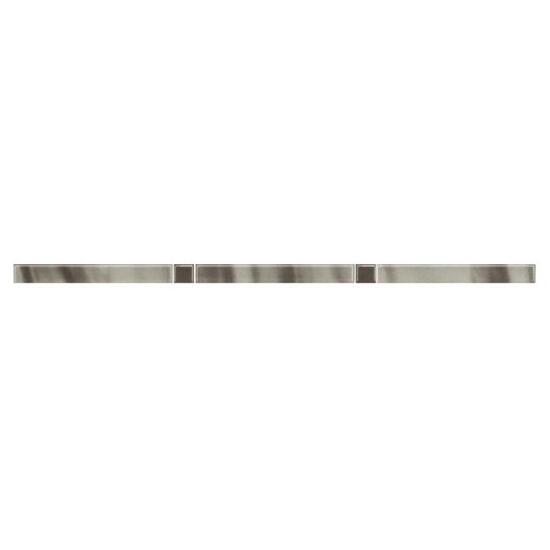 Płytka ścienna Palette Grys listwa Murano 2,3x60 Paradyż