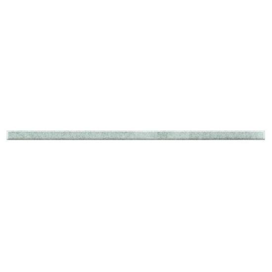Płytka ścienna Palette Silver listwa szklana 2,3x60 Paradyż