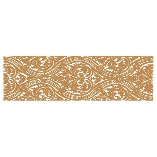 Płytka ścienna Delicate Gold Arabska listwa 15x50 Paradyż