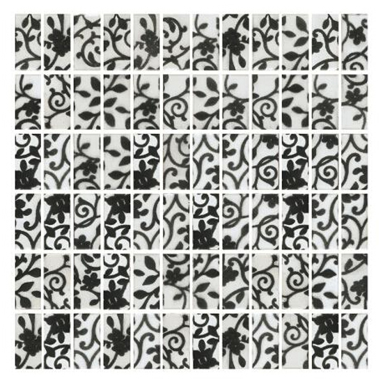 Mozaika Hiroe Bianco prasowana 30x30 Paradyż
