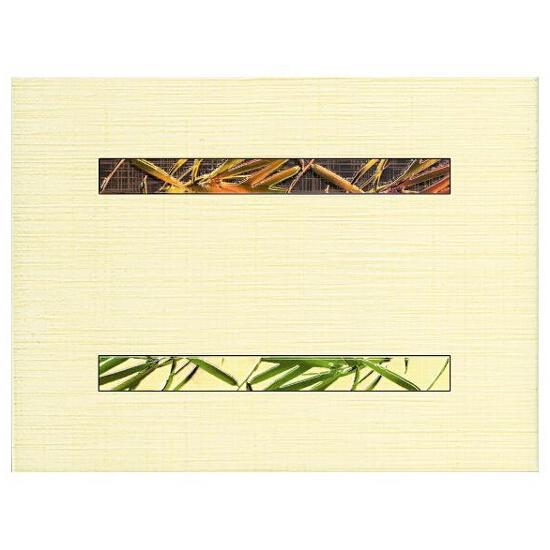 Płytka ścienna Bambus Beige A inserto wycinane 25x33,3 Paradyż