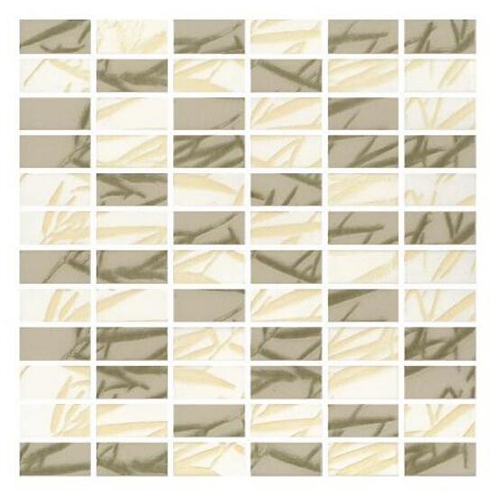 Mozaika Bambus Mix Beige/Verde 30x30 Paradyż