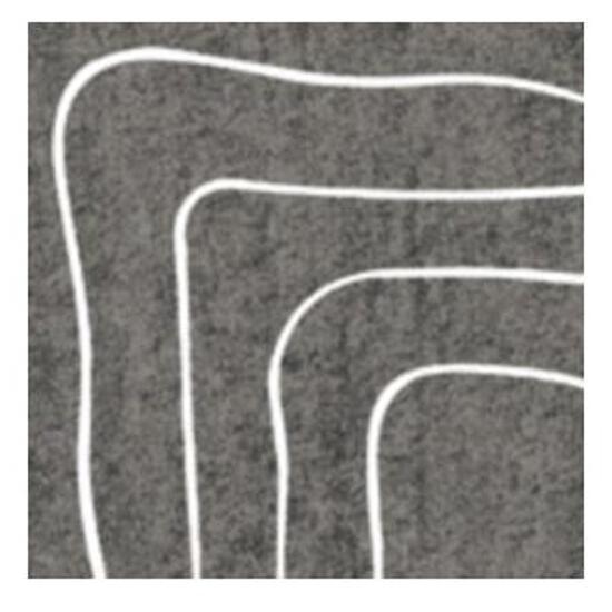 Narożnik gresowy Affron Grafit A 7,9x7,9 Paradyż