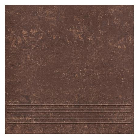 Gres Mistral Brown stopnica 29,8x29,8 Paradyż