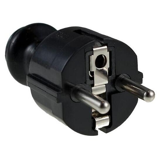 Wtyczka kablowa 2P+Z WT-30-2 czarna Elgotech