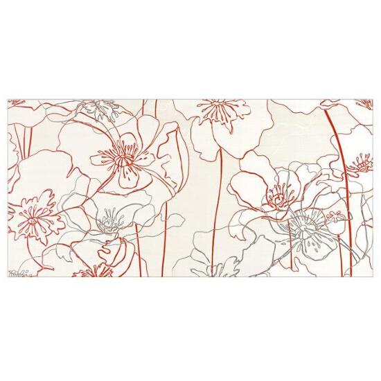 Płytka ścienna centro Infinita krem flower line a 29x59,3