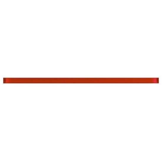 Płytka ścienna glass red 59,3x2,3