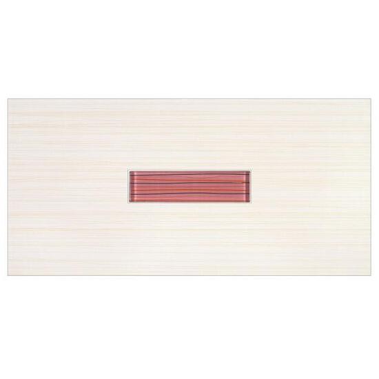 Płytka ścienna centro Linero róż glass 29x59,3