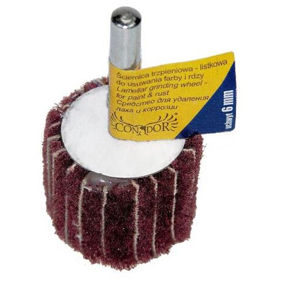 Wachlarzowa tarcza szlifierska trzpieniowo-listkowa 63,5mm P.S.Trading