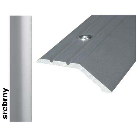 Listwa wyrównująca Effect Standard A11 srebro 90cm Effector