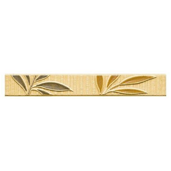 Płytka ścienna kafel bambus orange 25x3,5 Tenera