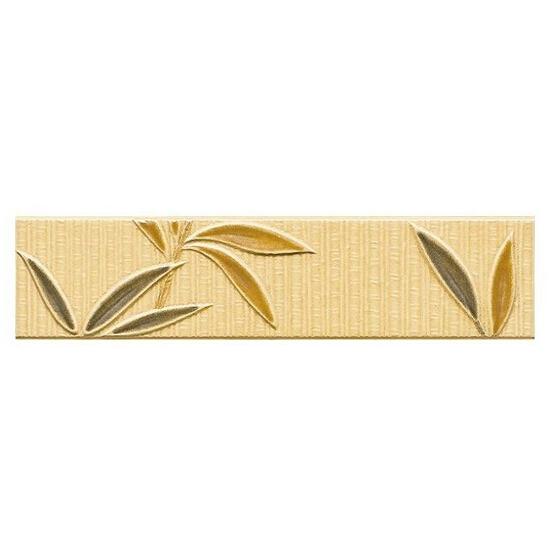 Płytka ścienna kafel bambus orange 25x6 Tenera