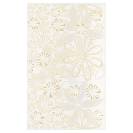 Płytka ścienna Euforia bianco inserto kwiatek 3 25x40