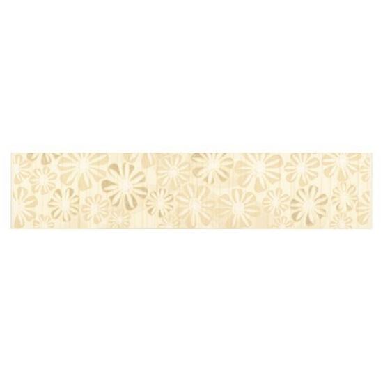 Płytka ścienna Euforia beige listwa kwiatek 2 40x8,5