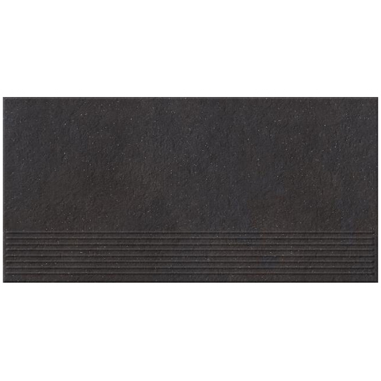 Gres Dry River graphite stopnica 29,55x59,4