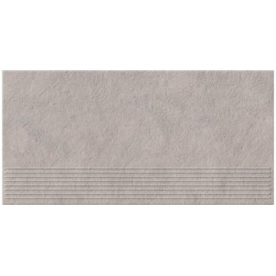 Gres Dry River light grey stopnica 29,55x59,4