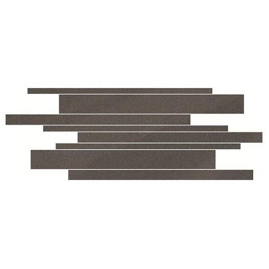 Mozaika Kando graphite paski 14,7x41