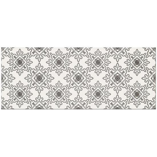 Płytka ścienna Black&White pattern E 20x50 Opoczno