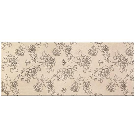 Płytka ścienna Cemento grey flower 20x50
