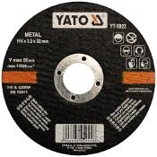 Tarcza tnąca do metalu 125x22x1.2mm YT-5923 Yato