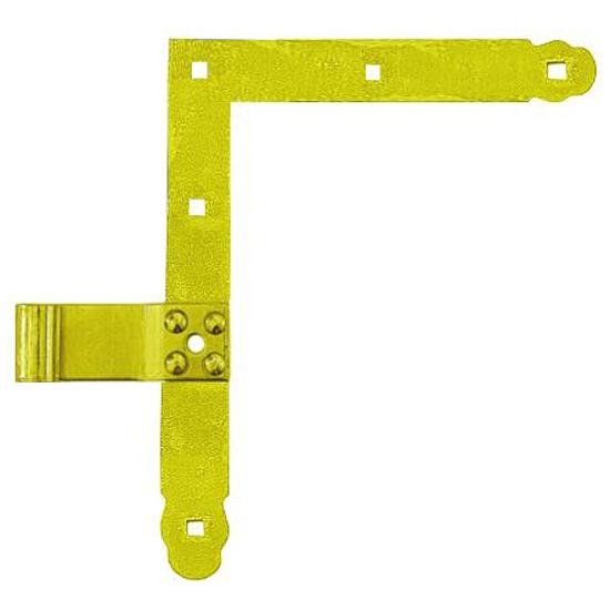 Zawias narożnikowy prosty ZN 250 fi 13mm 250x200 (1 prawy + 1 lewy) Domax
