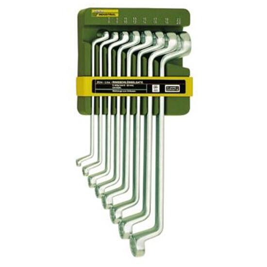 Zestaw kluczy oczkowych giętych 8 części 6-22mm 23810 PROXXON
