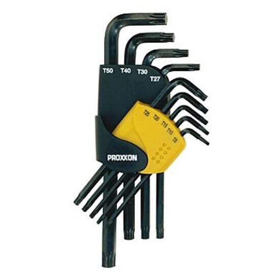 Zestaw kluczy sześciokątnych Torx zewn. 9 części T8-T50 23944 PROXXON