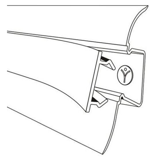 Listwa przypodłogowa 44 PVC dąb K3 dł 2,5m A-4LCOX-K3-250 Prexa