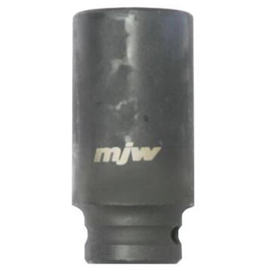 """Nasadka udarowa 1/2"""" sześciokątna długa 19mm 1240719 MJW"""