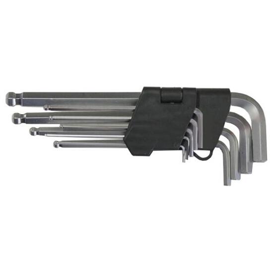 Zestaw kluczy sześciokątnych 1,5-10mm 9szt. 51005 MJW