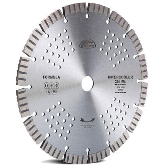 Diamentowa tarcza tnąca Formula Intercooler 230x22,2mm Stayer