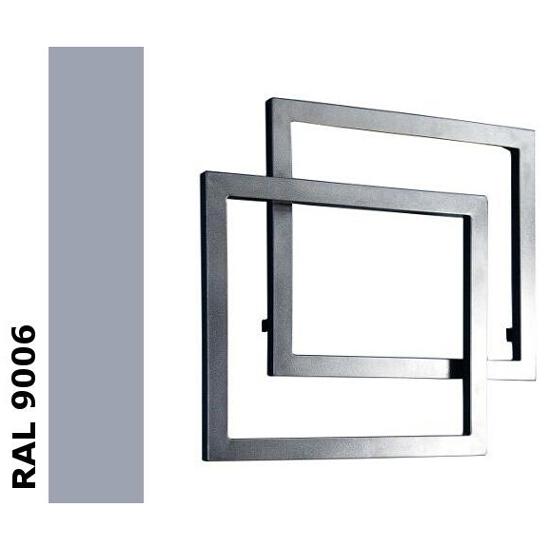 Grzejnik łazienkowy Świetlik GK-O RAL 9006 Termal