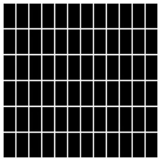 Mozaika Albir Nero 30x30 kostka 2,3x4,8 Paradyż