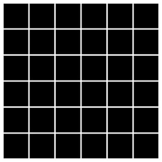 Mozaika Albir Nero 30x30 kostka 4,8x4,8 Paradyż