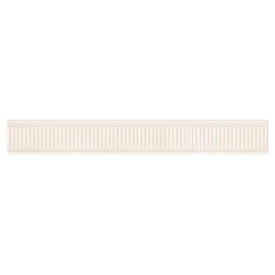Płytka ścienna Sabro Bianco listwa prasowana 8x59,5 Paradyż